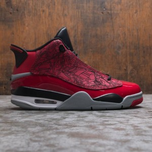 Air Jordan Dub Zero Men (gym red / gym red-black-particle grey)