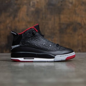 Air Jordan Dub Zero (GS) Big Kids (black / gym red-wolf grey-white)