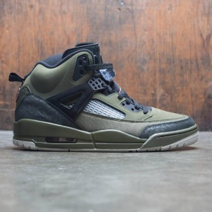 Jordan Men Spizike (olive canvas / cone-black-light bone)