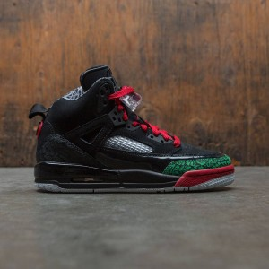 Jordan Big Kids Boy Spizike (GS) (black / varsity red-classic green-white)
