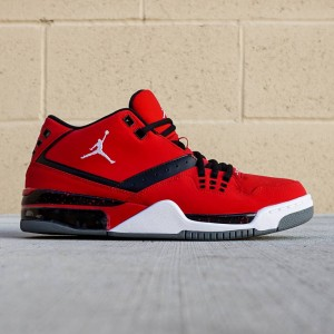 Jordan Men Flight23 (red / gym red / white / black / cool grey)