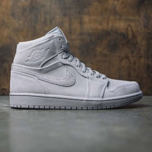 Air Jordan 1 Retro High Men (wolf grey / wolf grey)