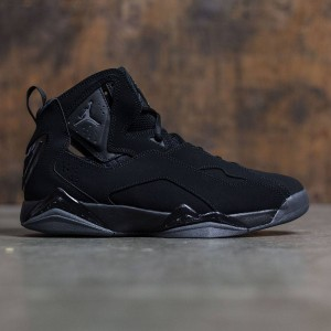Jordan Men True Flight (black / dark grey)