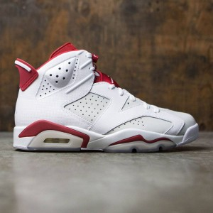 Air Jordan 6 Retro Men (white / gym red-pure platinum)