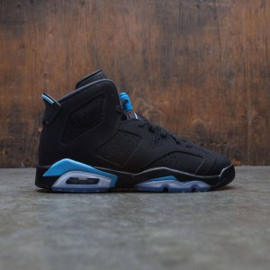 Air Jordan 6 Retro (GS) Big Kids (black / university blue)