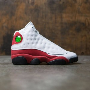 Air Jordan 13 Retro (GS) Big Kids (white / black-true red-cool grey)