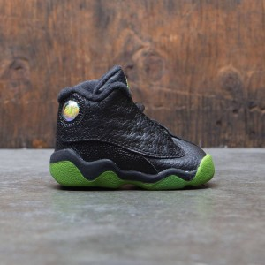 Jordan 13 Retro (TD) Toddler (black / altitude green-white)