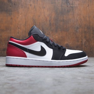 Air Jordan 1 Low Men (white / black-gym red)