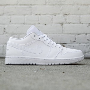 Air Jordan 1 Low Men (white / metallic silver / white)
