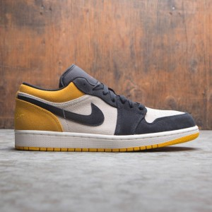 Air Jordan 1 Low Men (sail / gym red-university gold-black)