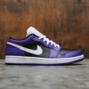 Air Jordan 1 Low Men (court purple / white-black)