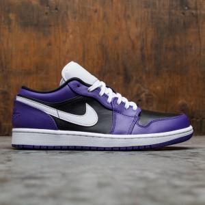 Air Jordan 1 Low Men (court purple / white-black)