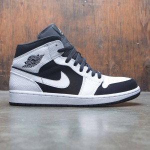 Air Jordan 1 Mid Men (white / black-white)
