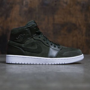 Air Jordan 1 Mid Men (sequoia / max orange-white)