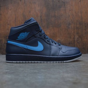 Air Jordan 1 Mid Men (navy / obsidian / university blue-white)