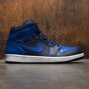 Air Jordan 1 Mid Men (blue / obsidian / game royal-summit white)
