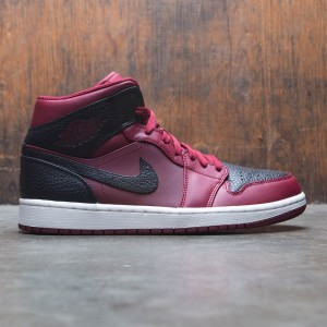 Air Jordan 1 Mid Men (red / team red / black-summit white)