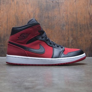 Air Jordan 1 Mid Men (gym red / black-white)