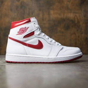Air Jordan 1 Retro High OG Men (white / varsity red)