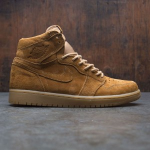 Air Jordan 1 Retro High OG Men (tan / golden harvest-gum yellow)