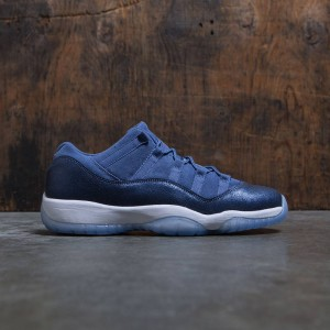 Air Jordan 11 Retro Low (GS) Big Kids (blue moon / polarized blue-binary blue)