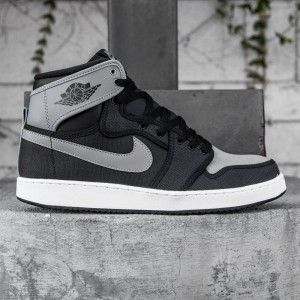 Air Jordan 1 KO High OG Men (black / shadow grey / white)