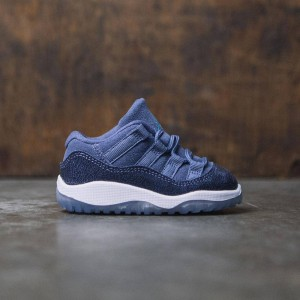 Air Jordan 11 Retro Low (TD) Toddlers (blue moon / polarized blue-binary blue)