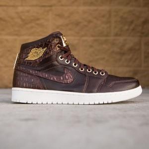 Air Jordan 1 Pinnacle Men (brown / baroque brown / metallic gold / summit white)