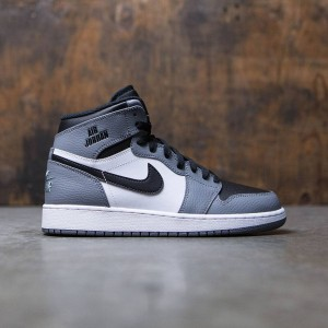 Air Jordan 1 Retro High (GS) Big Kids (cool grey / cool grey-white-black)