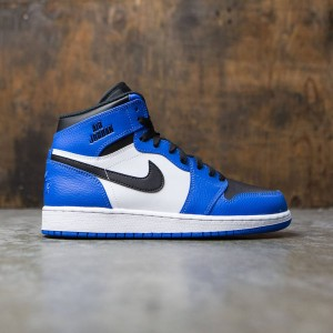 Air Jordan 1 Retro High (GS) Big Kids (soar / soar-white-black)