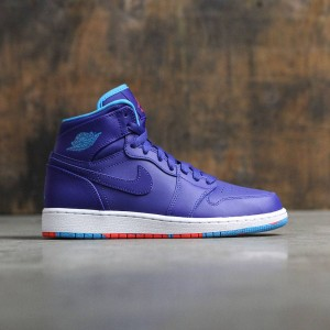 Air Jordan 1 Retro High (GS) Big Kids (deep royal blue / blue lagoon-infrared 23)