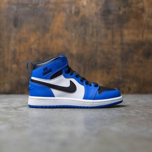 Air Jordan 1 Retro High (PS) Pre-School Little Kids (soar / soar-white-black)
