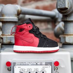 Air Jordan 1 Retro High BT Toddlers (red / gym red / black / white)
