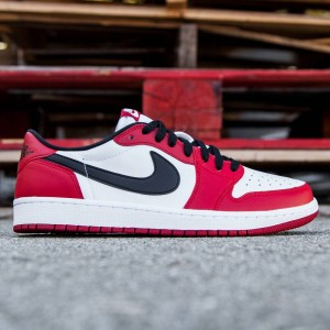 Air Jordan 1 Retro Low OG Men (red / varsity red / black / white)