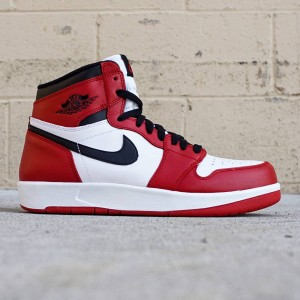Air Jordan 1.5 BG Big Kids (red / black / white)