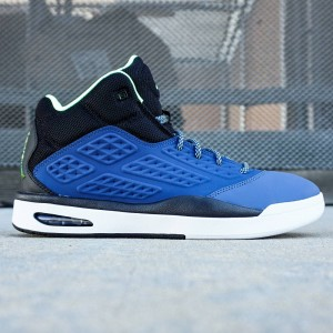 Jordan Men New School (blue / insignia blue / ghost green / black / white)
