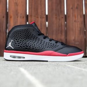 Jordan Men Flight 2015 (black / white / gym red)