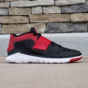 Jordan Men Flight Flex Trainer 2 (black / white / gym red)