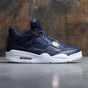 AIR JORDAN 4 RETRO Pinnacle PREMIUM Men (navy / obsidian / obsidian-white)