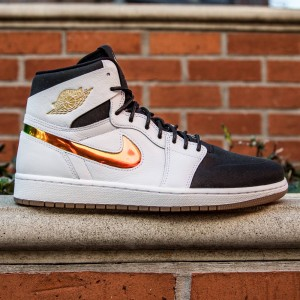 Air Jordan 1 Retro High Nouveau - Dunk From Above Men (white / blue / yellow / gum)