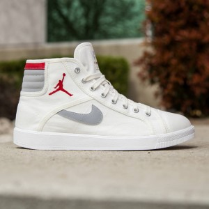 Air Jordan Sky High OG Men (white / sail / gym red / wolf grey)
