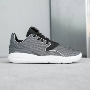 Jordan Big Kids Eclipse Premium GG (black / white / metallic silver)