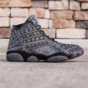 Jordan Men Horizon Premium (black / light charcoal / purple steel)