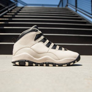 AIR JORDAN 10 RETRO PREM GG Big Kids (pearl white / black / black)