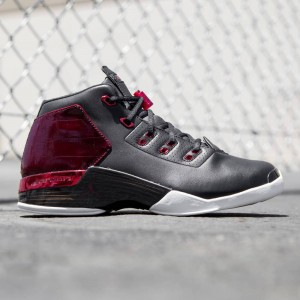Air Jordan 17+ Retro Men (black / white / gym red)