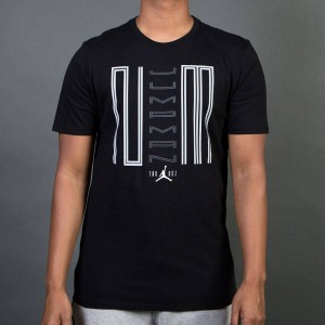 Air Jordan 11 Jumpman 23 Tee Men (black / white)