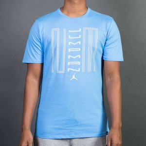 Air Jordan 11 Jumpman 23 Tee Men (blue / university blue / white)