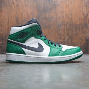 Air Jordan 1 Mid SE Men (pine green / black-sail)