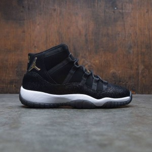 AIR JORDAN 11 RETRO PREM HC Big Kids (black / metallic gold-white-infrared 23)