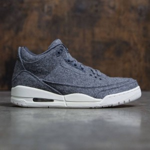 Air Jordan 3 Retro Wool Men (dark grey / dark grey-sail)